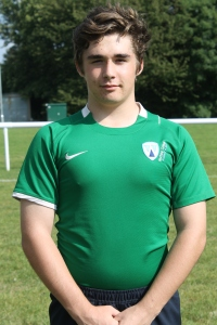 Conor Thompson Captain of the Worthing College Greens 2014-15