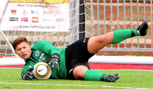 Great to see Jimmy Punter back in goal for Worthing after a long injury layoff.