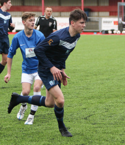 Marshall Ball was the catalyst for the positives of Worthing's performance and was awarded the Man of the Match for his performance.