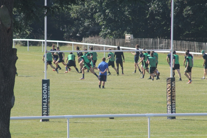 Greens in Great Friendly Training Fixture with Buckswood
