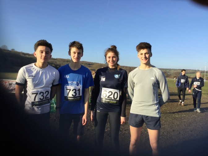 SUCCESS FOR WORTHING COLLEGE AT THE SUSSEX SCHOOLS CROSS COUNTRY CHAMPIONSHIPS