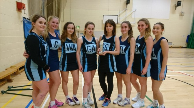 WORTHING COLLEGE NETBALL 1ST TEAM WIN THE SUSSEX SURRENDEN CUP