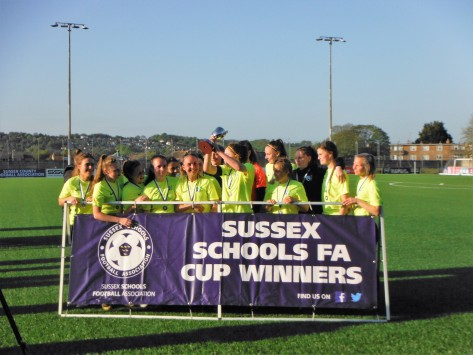 Womens football sussex cup 2