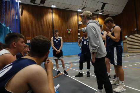 Basketball action 2018