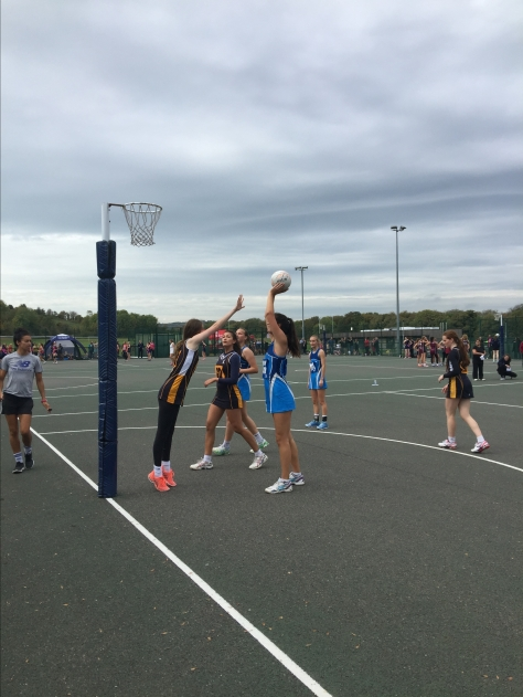 netball national schools action 2